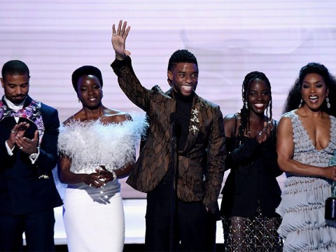 Chadwick Boseman shares passionate speech as Black Panther beats A Star Is Born at SAG Awards