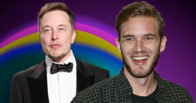 Elon Musk and PewDiePie