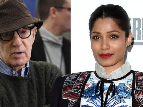 Frieda Pinto vows never to work with Woody Allen again in wake of sexual assault allegations
