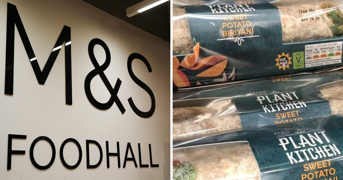 Top chef accuses M&S of cultural appropriation over vegan biryani wrap
