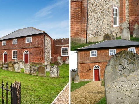 This graveyard house is now £105k cheaper because no one wants to live there