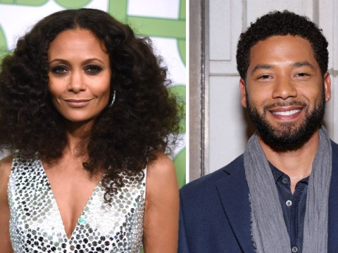 Ariana Grande, Katy Perry and Thandie Newton support Empire's Jussie Smollett after 'brutal beating' in hate crime