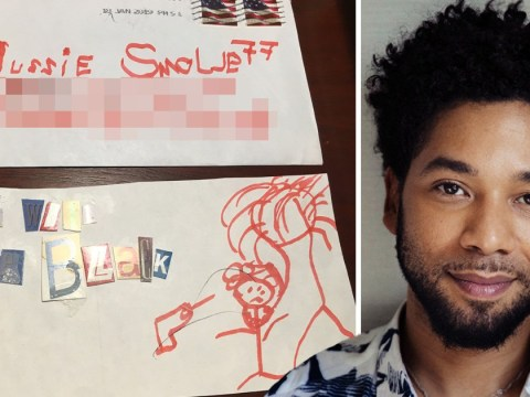 Jussie Smollett received chilling hate mail eight days before racist attack