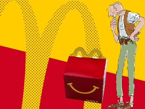McDonald's ditches Happy Meal toys for Roald Dahl books