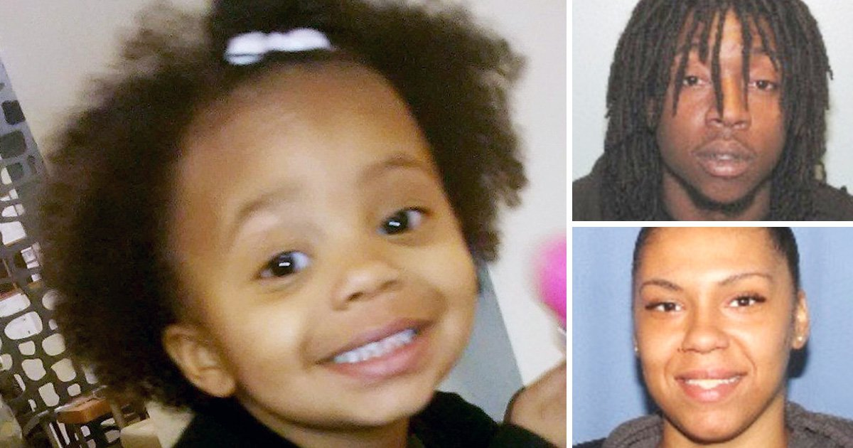 Parents jailed after leaving girl, 2, to freeze to death on porch