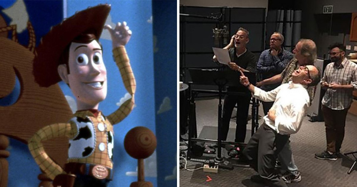 Tom Hanks 'rode like the wind, to infinity and beyond' as he records final line for Toy Story