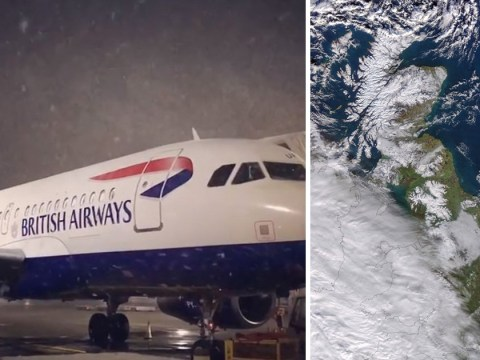 British Airways cancels Heathrow flights as snowstorm hits London
