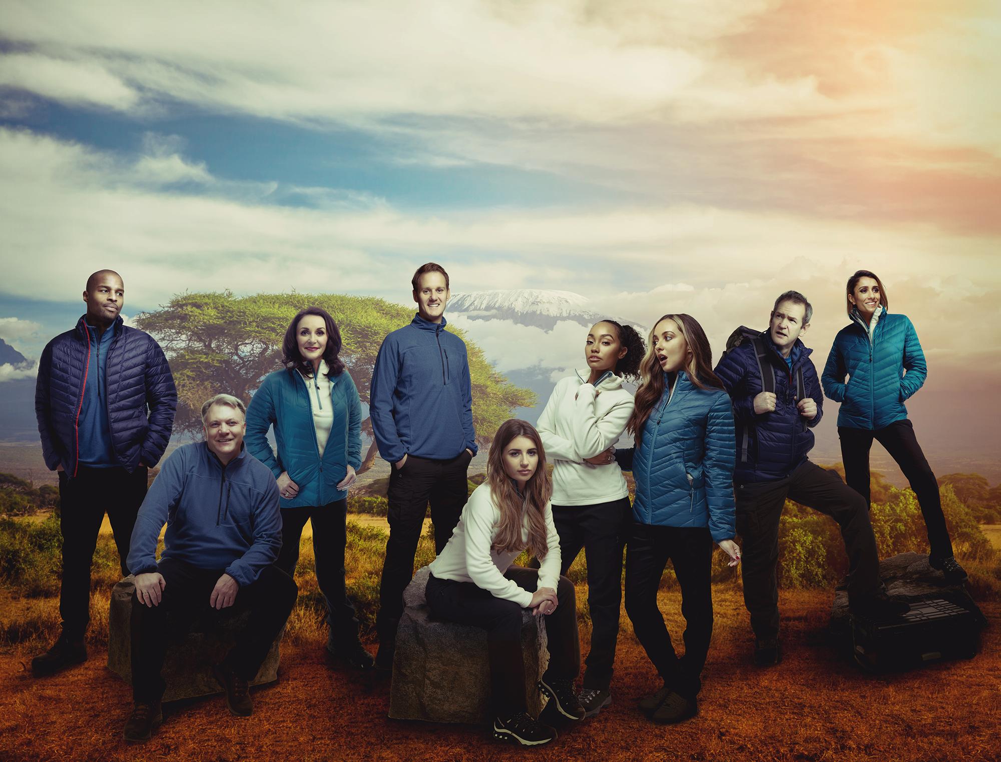 Comic Relief's Mount Kilimanjaro climb celebrities