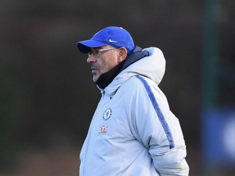 Chelsea squad questioning Maurizio Sarri's bizarre training regime