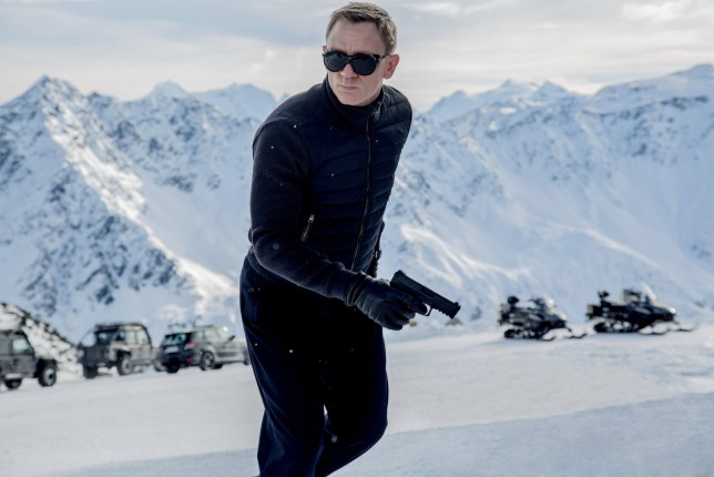 Spectre - 007 - Daniel Craig as James Bond