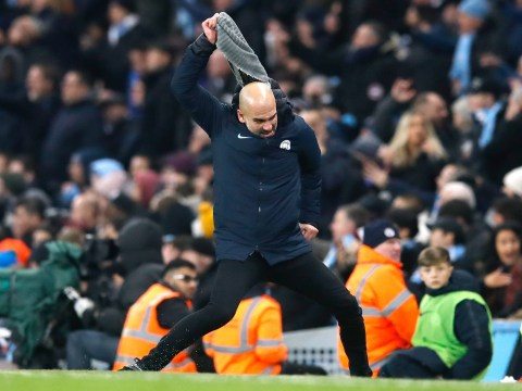 Pep Guardiola has scarf-throwing touchline meltdown as Man City beat Liverpool