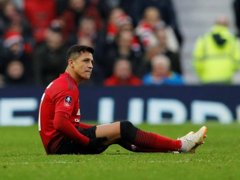 Ole Gunnar Solskjaer provides injury update after Alexis Sanchez limps off against Reading