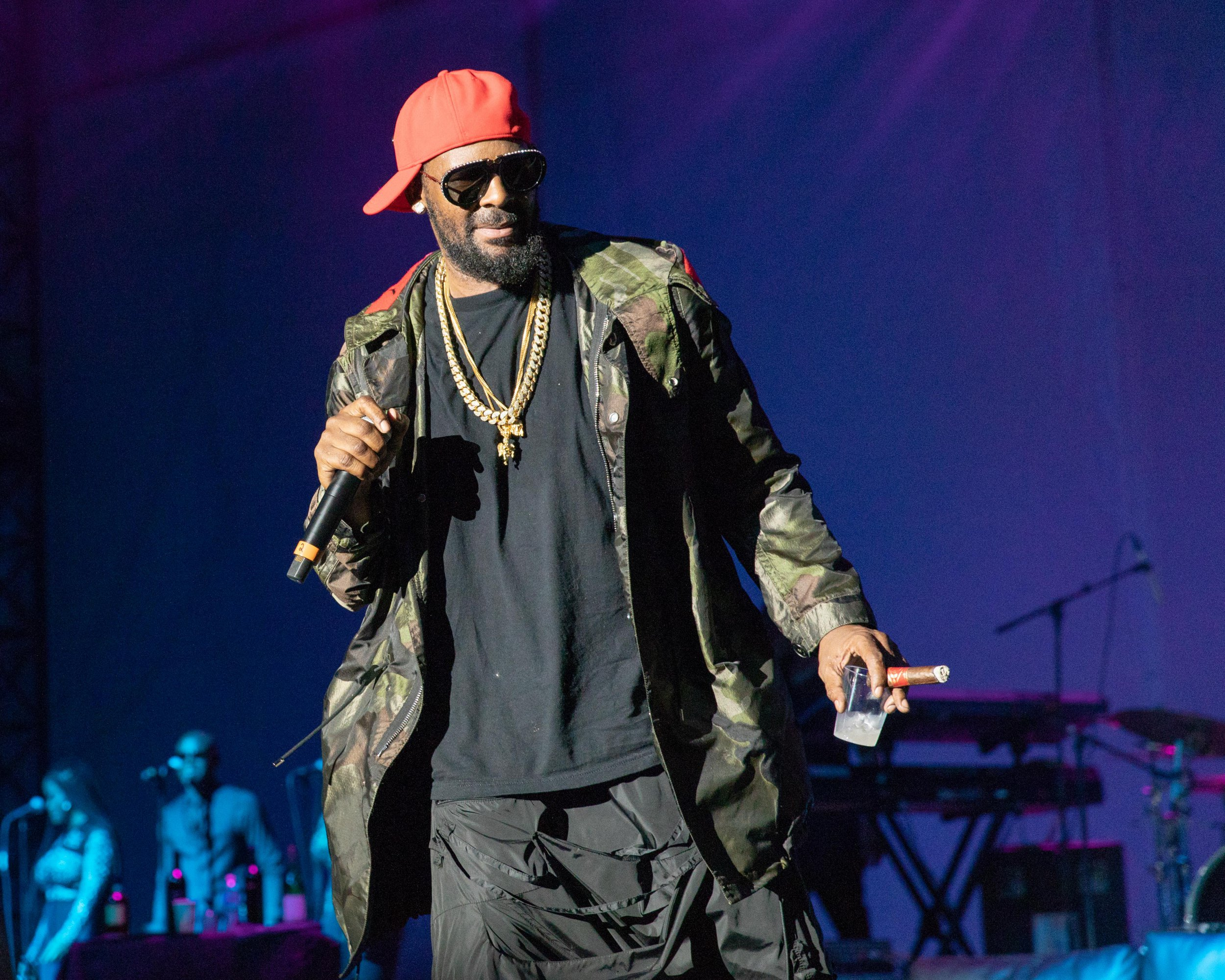 Mandatory Credit: Photo by Daniel Deslover/Zuma Wire/REX/Shutterstock (9762341ch) R. Kelly V103 Summer Block Party, Chicago, USA - 14 Jul 2018