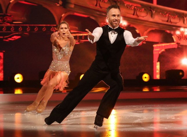 Editorial use only Mandatory Credit: Photo by Matt Frost/ITV/REX (10048681ao) James Jordan and Alexandra Schauman 'Dancing on Ice' TV show, Series 11, Episode 1, Hertfordshire, UK - 06 Jan 2019