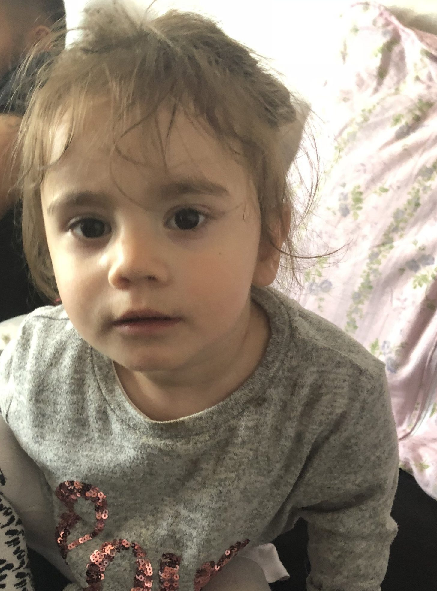 Maria Tudorica. (Picture: Met Police) Police are urgently appealing for information to trace a 17-month-old girl who was in a car when it was stolen in Newham. At around 16:37hrs on Sunday, 6 January, the girl's father met with an unknown man in Nine Acres Close, E12 with a view to selling his car. The man jumped into the car and drove away. The seller's daughter was in the front passenger seat of the car when it was taken. She is Maria Tudricai, a Romanian girl from the local area. She was wearing a white top and red bottoms. The car, a black Audi A5, registration number FY58UAZ was later found abandoned nearby in Hatherway Crescent, E12 without the child inside. The man who took the car is described as an Asian man of slim build, dressed in black clothing.