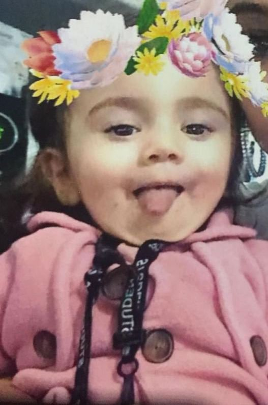 epa07266018 An undated handout photo made available by the London Metropolitan Police on 06 January 2019 shows 17-month-old Maria who disappeared during a car theft in Newham, Britain. Police are urgently appealing for information to trace the 17-month-old girl identified as Maria Tudorica who was in a car when it was stolen in Newham on 06 January 2019. The seller's daughter was in the front passenger seat of the car when it was taken. She is Maria Tudorica, a Romanian girl from the local area. She was wearing a white top and red bottoms. EPA/LONDON METROPOLITAIN POLICE / HANDOUT HANDOUT EDITORIAL USE ONLY/NO SALES