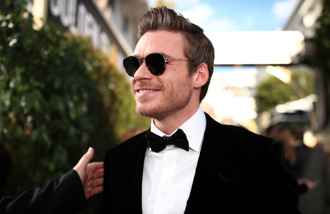 BEVERLY HILLS, CA - JANUARY 06: 76th ANNUAL GOLDEN GLOBE AWARDS -- Pictured: Richard Madden arrives to the 76th Annual Golden Globe Awards held at the Beverly Hilton Hotel on January 6, 2019. -- (Photo by Christopher Polk/NBC/NBCU Photo Bank)