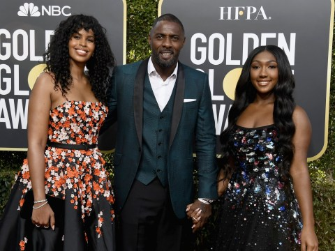 Luther's Idris Elba beams at Golden Globes 2019 as daughter takes centre stage in the ceremony