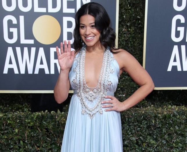 Mandatory Credit: Photo by Matt Baron/BEI/REX (10048067ic) Gina Rodriguez 76th Annual Golden Globe Awards, Arrivals, Los Angeles, USA - 06 Jan 2019