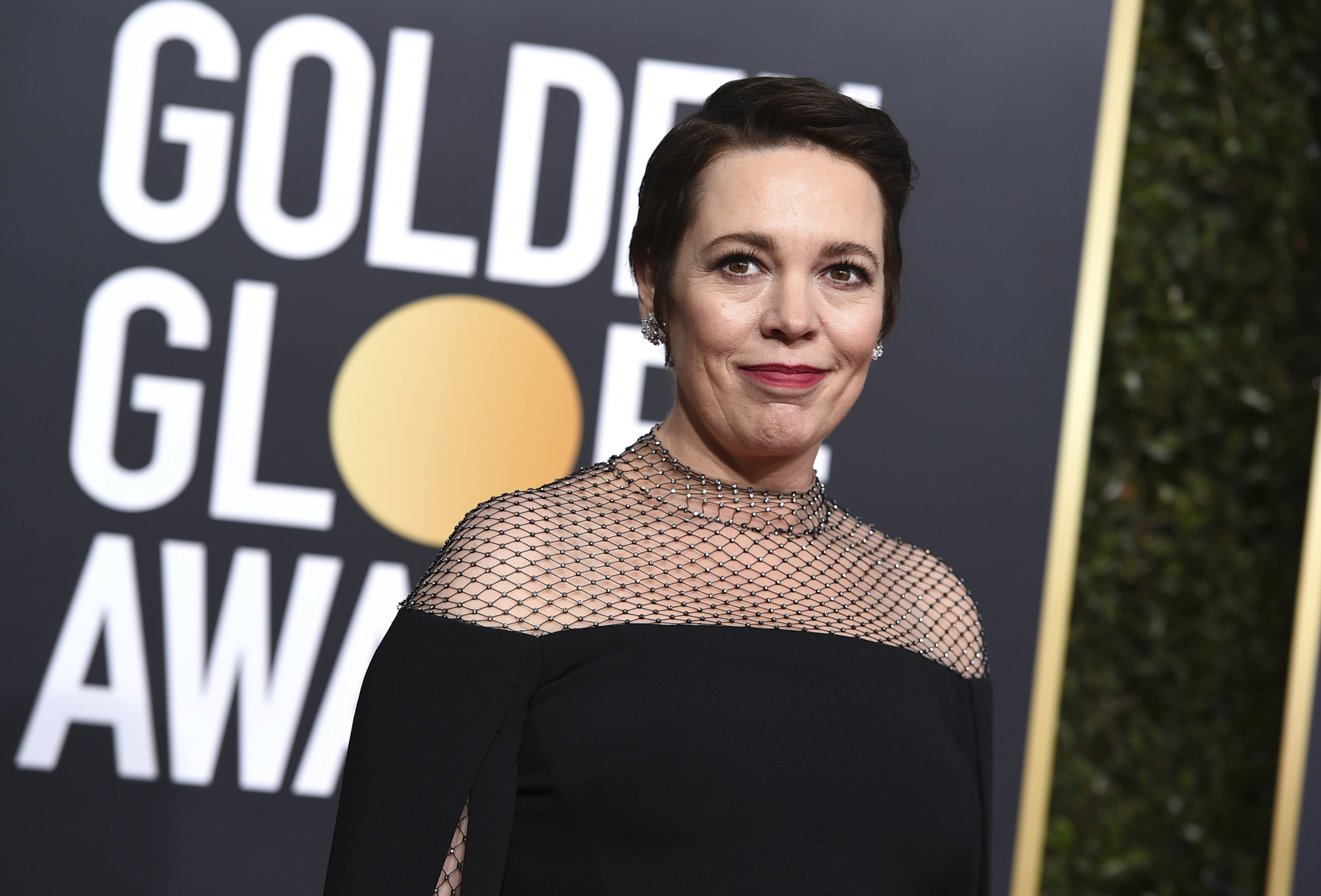 Olivia Colman arrives at the 76th annual Golden Globe Awards at the Beverly Hilton Hotel on Sunday, Jan. 6, 2019, in Beverly Hills, Calif. (Photo by Jordan Strauss/Invision/AP)