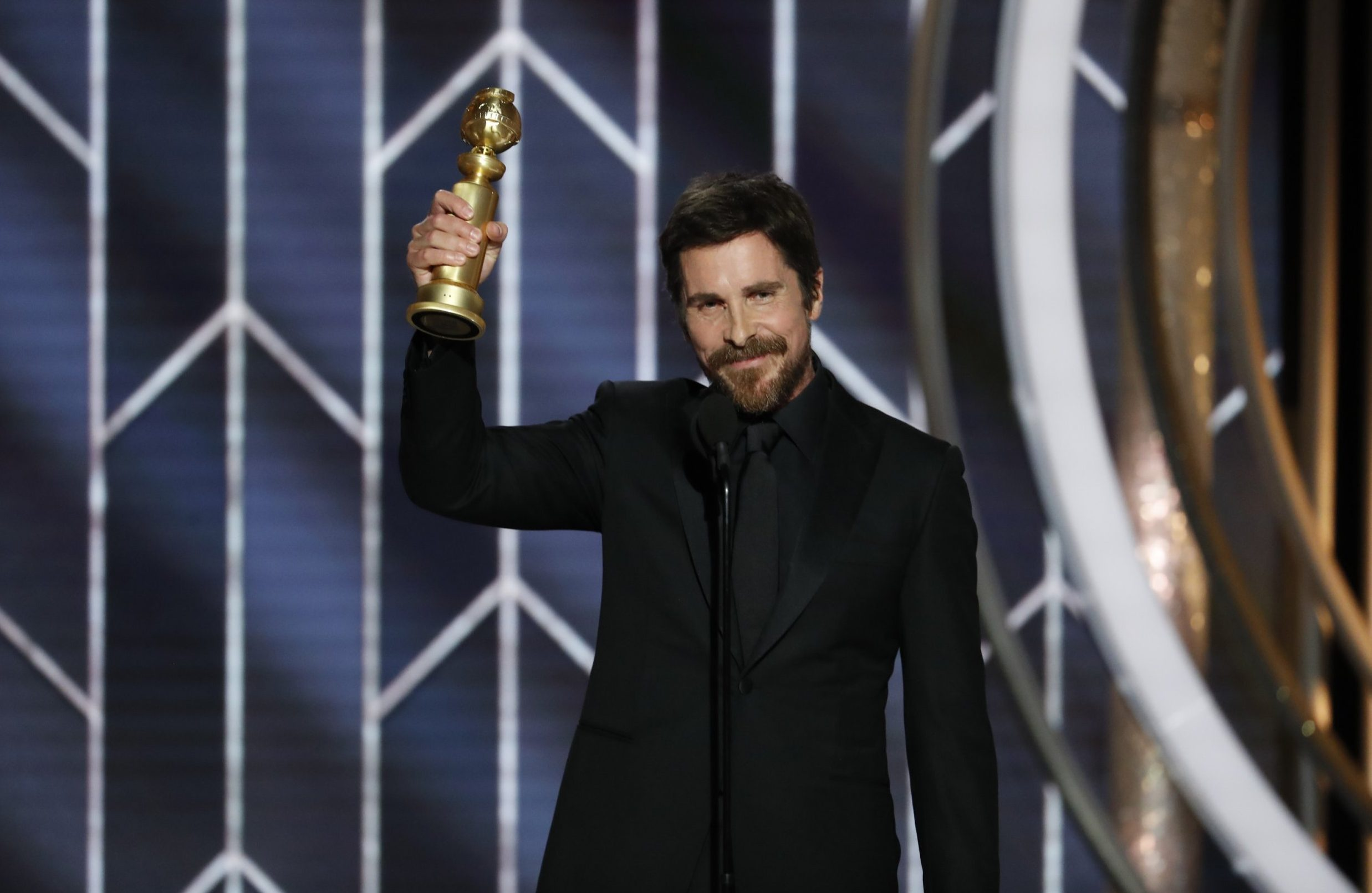 Golden Globes 2019: Everyone has somehow forgotten Christian Bale is British and it's a real ride