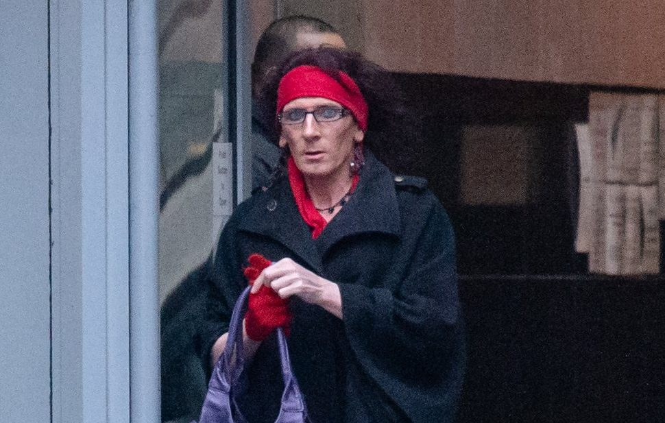 Princess Purple Watkins leaving Manchester Magistrates Court, where she was facing harassment charges. Gypsy Watkins an opera singer has told how she is living in fear of her transgender ex-agent Purple after he began hounding her following the break up of their year long marriage. He has been given a restraining order. Disclaimer: While Cavendish Press (Manchester) Ltd uses its' best endeavours to establish the copyright and authenticity of all pictures supplied, it accepts no liability for any damage, loss or legal action caused by the use of images supplied. The publication of images is solely at your discretion. For terms and conditions see http://www.cavendish-press.co.uk/pages/terms-and-conditions.aspx