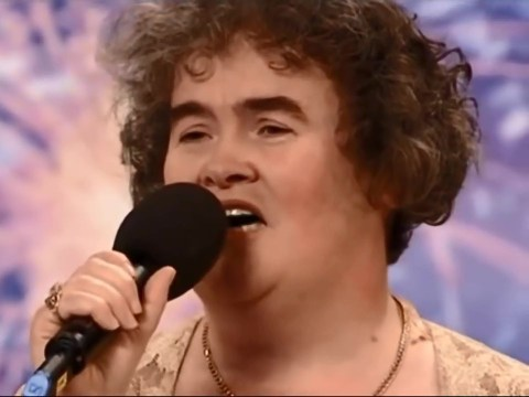 Susan Boyle throws it back to the day she dreamed a dream on Britain's Got Talent as she celebrated 58th birthday