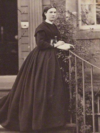 NPG Ax129165; Harriet Sarah (n?e Moncreiffe), Lady Mordaunt