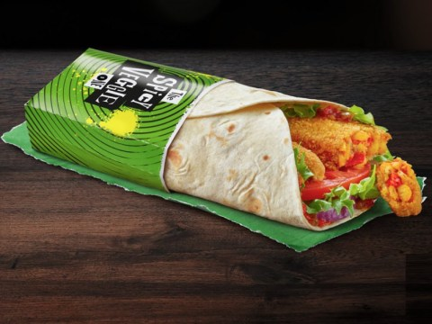 McDonald's slammed for 'serving chicken inside veggie wraps'