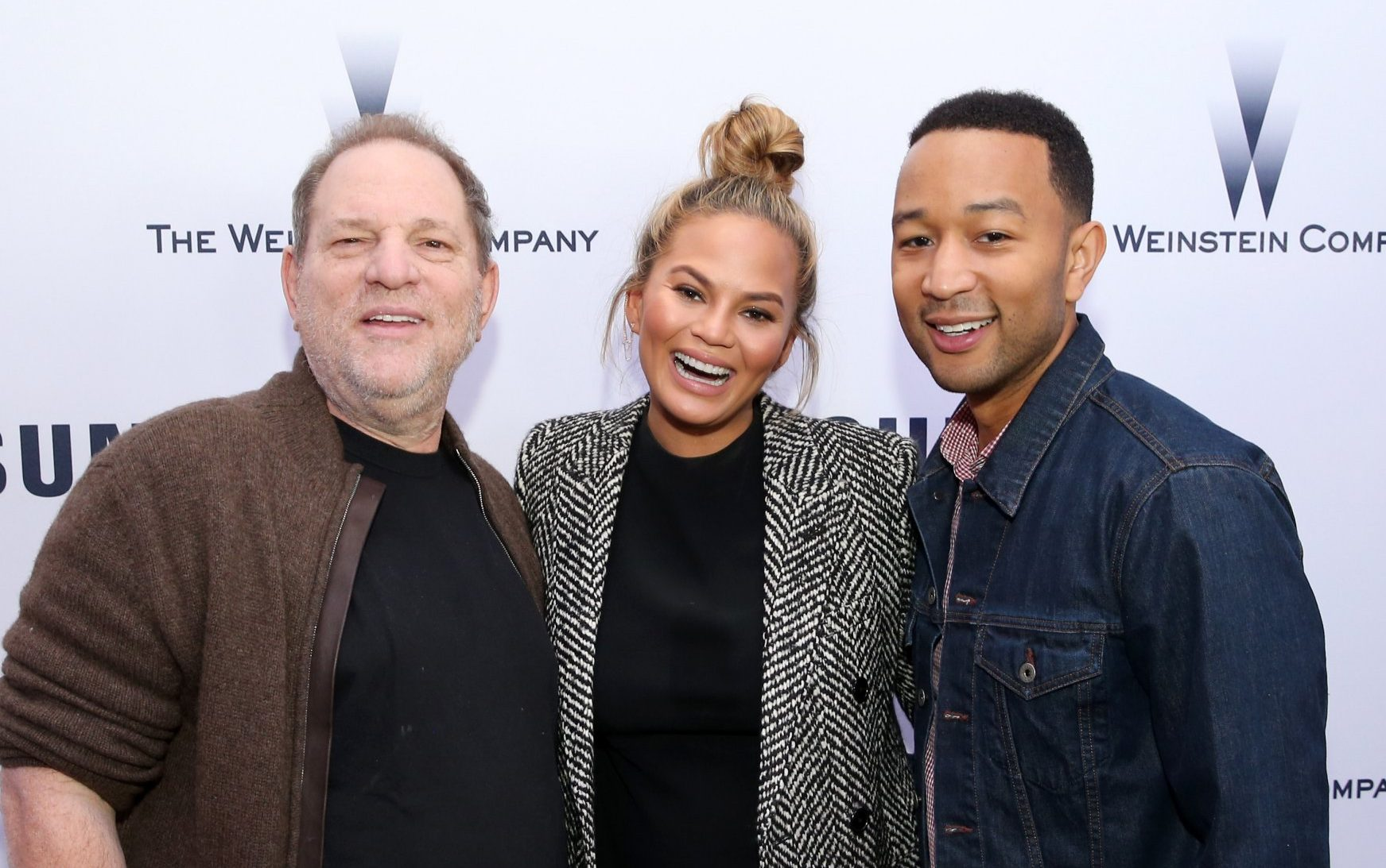 John Legend defends Harvey Weinstein photo after appearing in R Kelly documentary
