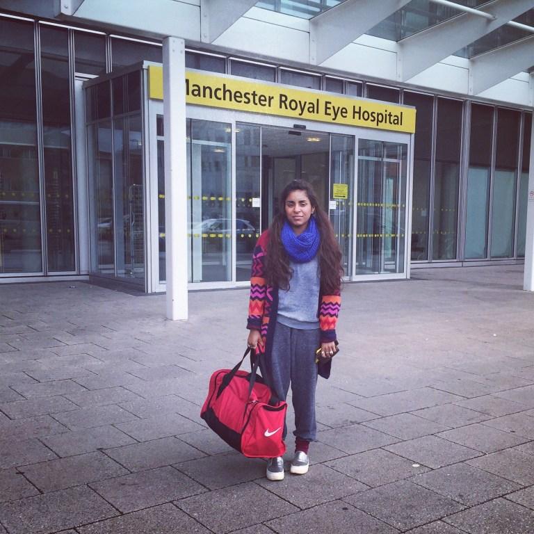 Anika Cosgrove What is it like having a cornea transplant