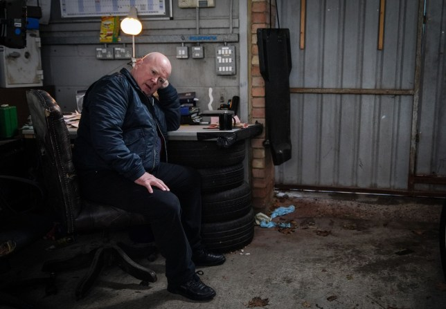 WARNING: Embargoed for publication until 00:00:01 on 15/01/2019 - Programme Name: EastEnders - January - March 2019 - TX: 24/01/2019 - Episode: EastEnders - January - March - 2019 - 5856 (No. n/a) - Picture Shows: *STRICTLY NOT FOR PUBLICATION UNTIL 00:01HRS TUESDAY 15th JANUARY 2019* Phil worries about what to do with Louise. Phil Mitchell (STEVE MCFADDEN) - (C) BBC - Photographer: Kieron McCarron