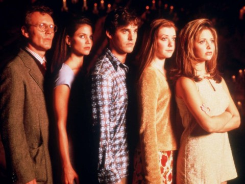 Sarah Michelle Gellar and Buffy The Vampire Slayer cast celebrate show's 22nd birthday and we're officially ancient