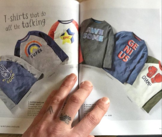 8d4cc36947142 Outrage at 'sexist' clothing line with rainbows for girls and trains ...
