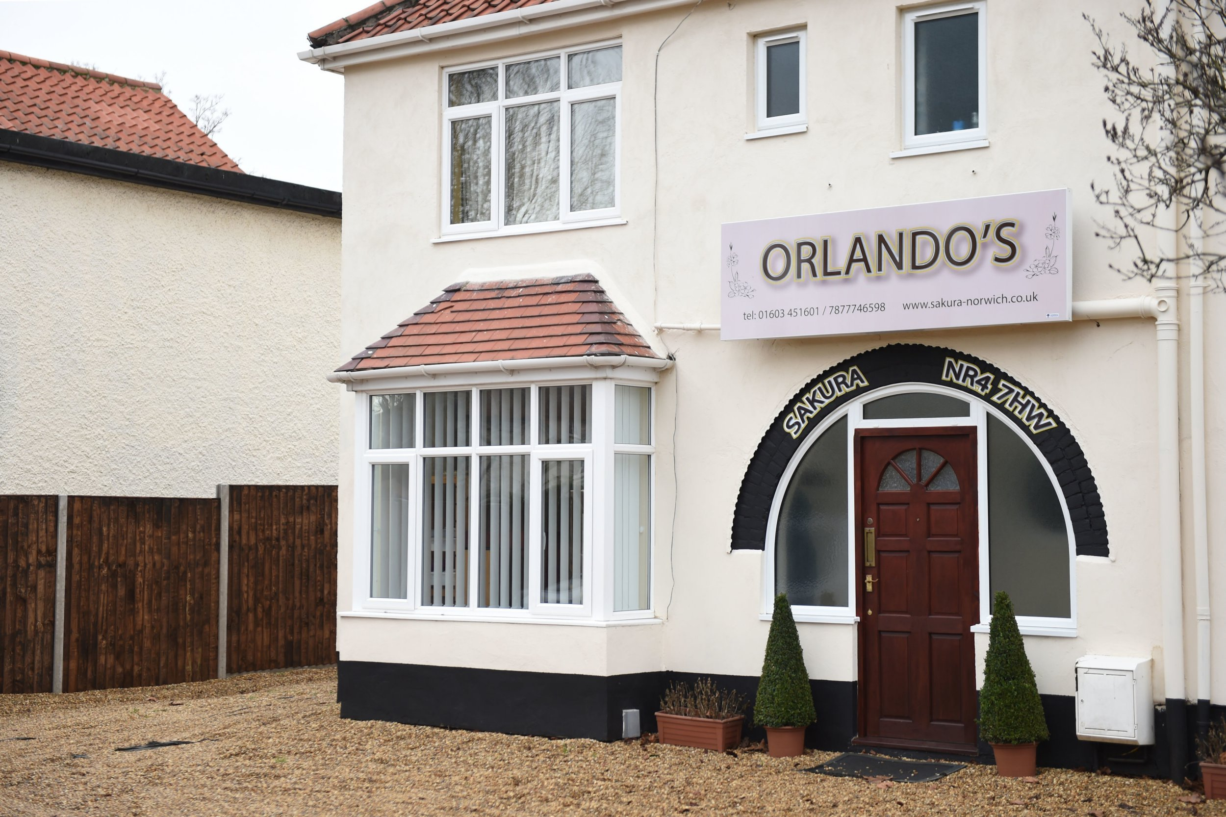 A residential property on Earlham Road in Norwich, which is being investigated by Norwich City Council as neighbours believe Orlando Williams is running a sushi restaurant from inside the residential property. PRESS ASSOCIATION Photo. Picture date: Friday January 11, 2019. See PA story CONSUMER Restaurant. Photo credit should read: Joe Giddens/PA Wire
