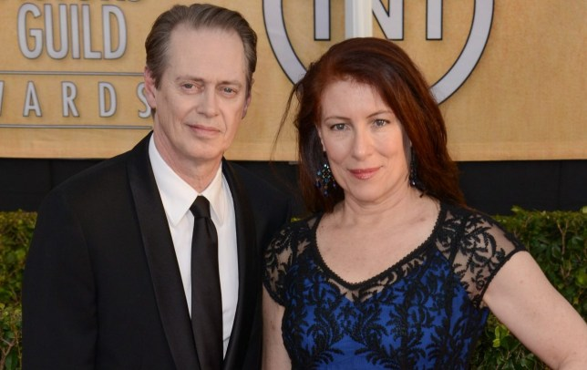 Mandatory Credit: Photo by Rob Latour/REX/Shutterstock (3517197gc) Steve Buscemi, Jo Andres 20th Annual Screen Actors Guild Awards, Arrivals, Los Angeles, America - 18 Jan 2014