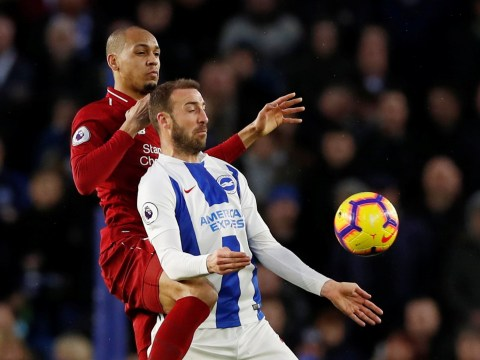 Jurgen Klopp rates Fabinho's performance against Brighton as he steps in to solve defensive crisis