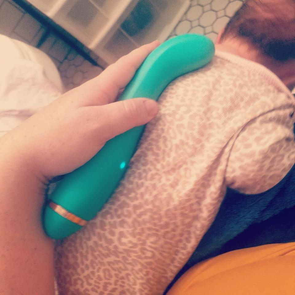 Metro Grab Via Facebook Mum Uses Her Vibrating Sex Toy To Help Ease Her Baby