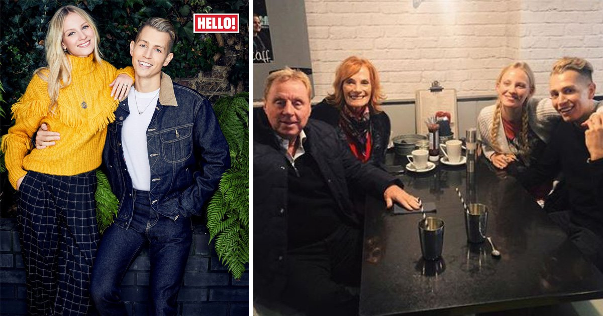 I'm A Celebrity star James McVey engaged to girlfriend – and yes Harry Redknapp was there to select the ring
