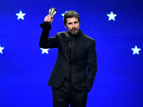 Christian Bale's 'confusing' accent leaves fans scratching their heads during Critics' Choice Awards speech