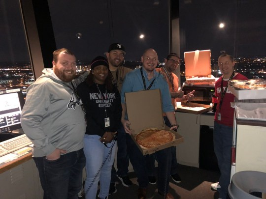 Canada Send Pizza To Us Air Traffic Controllers Not Being