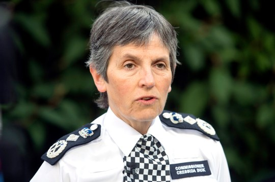 File photo dated 23/06/17 of Metropolitan Police Commissioner Cressida Dick, who has backed a drive to focus on violent offenders rather than recording incidents of misogyny that are not crimes.