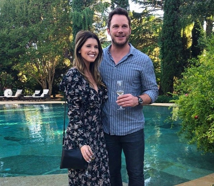 BGUK_1334702 - Various, UNITED KINGDOM - Celebrity social media photos! Pictured: Chris Pratt, Katherine Schwarzenegger BACKGRID UK 11 SEPTEMBER 2018 *BACKGRID DOES NOT CLAIM ANY COPYRIGHT OR LICENSE IN THE ATTACHED MATERIAL. ANY DOWNLOADING FEES CHARGED BY BACKGRID ARE FOR BACKGRID'S SERVICES ONLY, AND DO NOT, NOR ARE THEY INTENDED TO, CONVEY TO THE USER ANY COPYRIGHT OR LICENSE IN THE MATERIAL. BY PUBLISHING THIS MATERIAL , THE USER EXPRESSLY AGREES TO INDEMNIFY AND TO HOLD BACKGRID HARMLESS FROM ANY CLAIMS, DEMANDS, OR CAUSES OF ACTION ARISING OUT OF OR CONNECTED IN ANY WAY WITH USER'S PUBLICATION OF THE MATERIAL* UK: +44 208 344 2007 / uksales@backgrid.com USA: +1 310 798 9111 / usasales@backgrid.com *UK Clients - Pictures Containing Children Please Pixelate Face Prior To Publication*