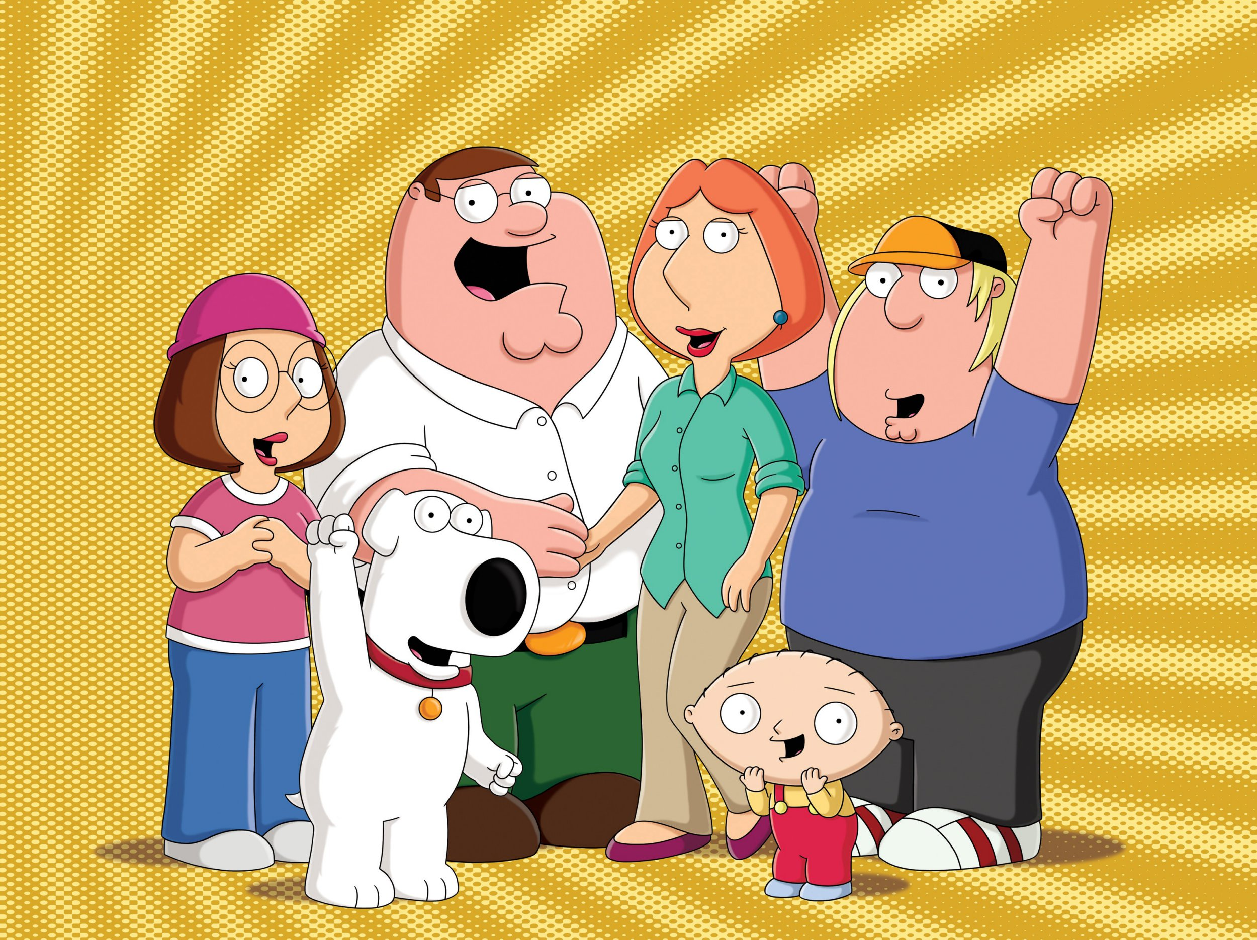 Editorial use only. No book cover usage. Mandatory Credit: Photo by Fox Tv/Seth Macfarlane/Kobal/REX/Shutterstock (5886296t) The Family Guy (1999-) The Family Guy - 1999 Fox TV/Seth Macfarlane USA Animation