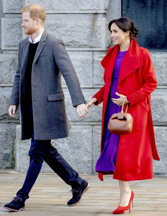 Meghan Markle and Prince Harry during the visit to Hamilton square in London Pictured: Prince Harry,Meghan Markle Ref: SPL5055406 150119 NON-EXCLUSIVE Picture by: ENT / SplashNews.com Splash News and Pictures Los Angeles: 310-821-2666 New York: 212-619-2666 London: 0207 644 7656 Milan: 02 4399 8577 photodesk@splashnews.com World Rights, No Belgium Rights, No France Rights, No Greece Rights, No Luxembourg Rights, No Netherlands Rights, No Poland Rights