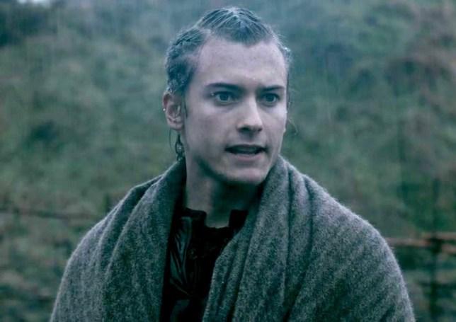 Elijah Rowen as Asbjorn in Vikings (Picture: History)