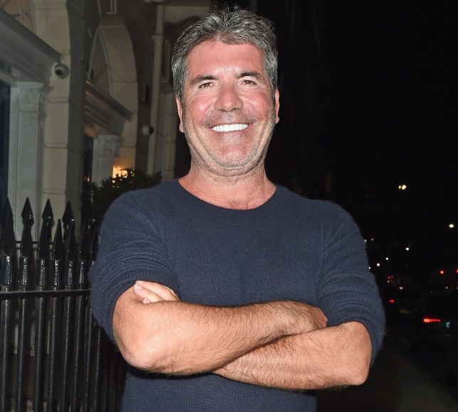 BGUK_1457591 - *EXCLUSIVE* London, UNITED KINGDOM - Music mogul and the X-Factor judge Simon Cowell looks as proud as punch showing off his beaming smile with his gleaming white teeth and unkempt nasal hairs spotted at 140 Harley Street in Central London. Pictured: Simon Cowell BACKGRID UK 15 JANUARY 2019 BYLINE MUST READ: SOUTHPAW / BACKGRID UK: +44 208 344 2007 / uksales@backgrid.com USA: +1 310 798 9111 / usasales@backgrid.com *UK Clients - Pictures Containing Children Please Pixelate Face Prior To Publication*