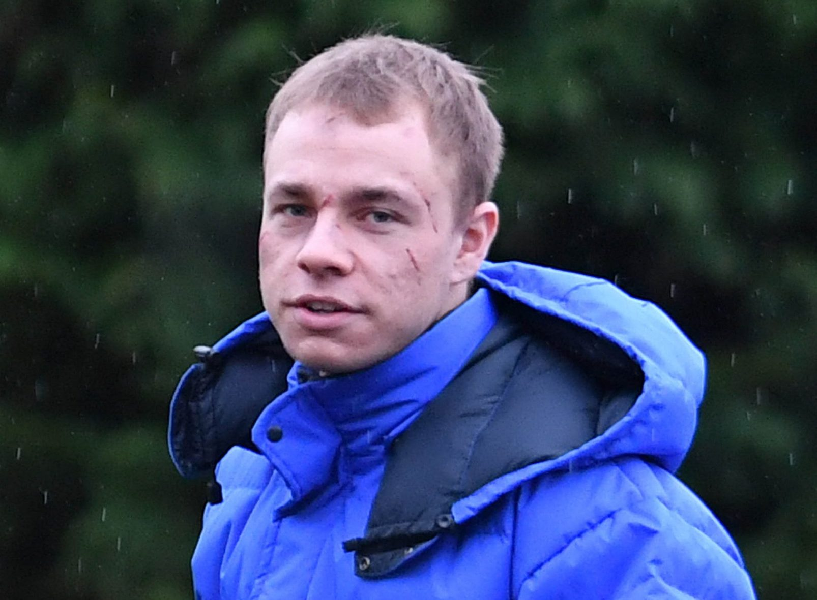 Who plays Clayton Hibbs in Coronation Street and why is he in prison?