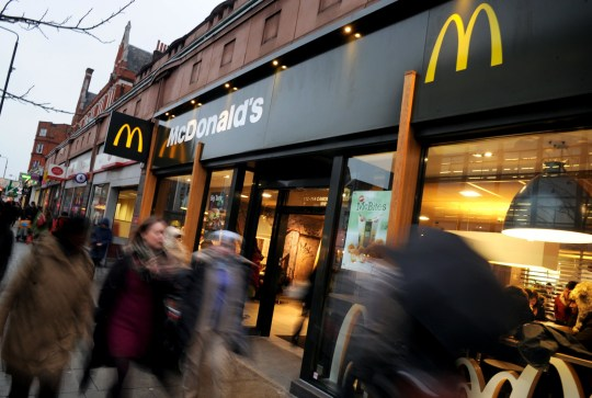 General view of a McDonald's restaurant in Camden, London, as the fast food restaurant announced the creation of a significant number of new jobs across the UK in the next year.