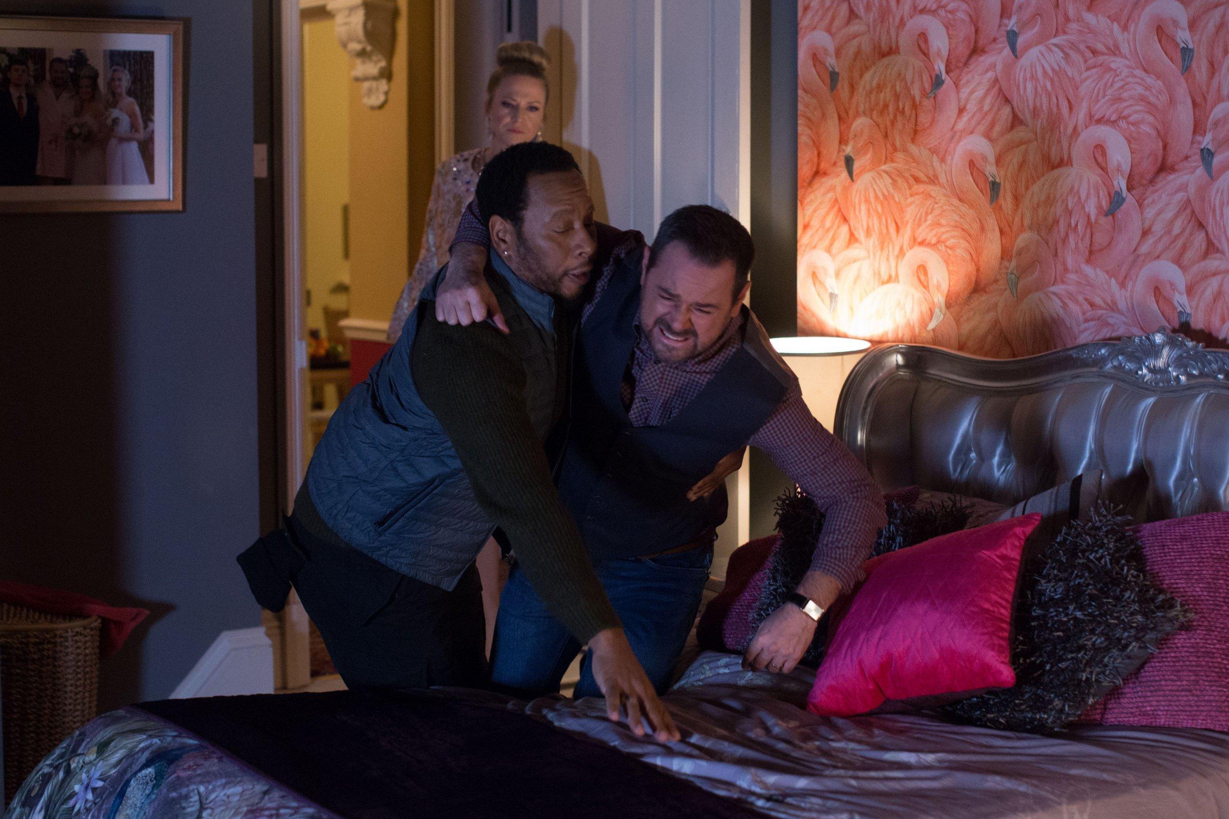 EastEnders spoilers: Linda Carter's dismay as Mick is injured